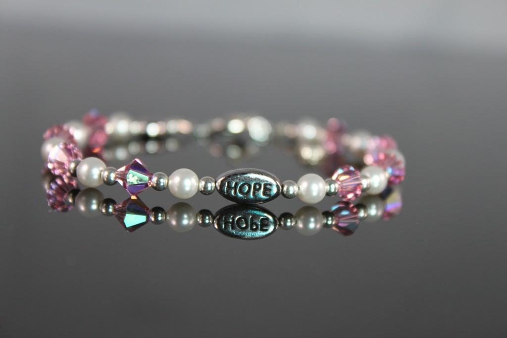 Hope Beaded Bracelet