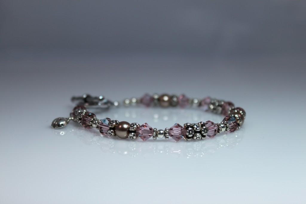Vintage Rose Four Flowers Bracelet